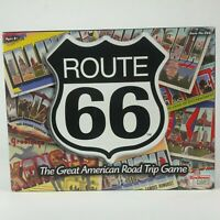 Route 66 Board Game The Great American Road Trip Game NEW Sealed Contents Cards