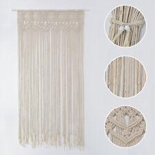Window Door Curtain Macrame Boho Wall Hanging Tapestry Wedding Party Home Decor