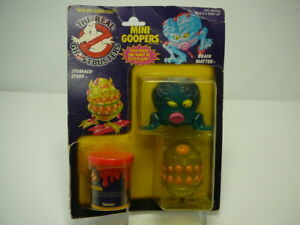 Vintage Kenner Ghostbusters Mini Goopers MOC Factory Sealed 1987 Rare Vintage