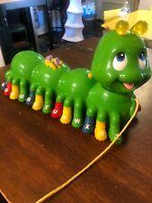 2001 Leap Frog Leapfrog Alphabet Pal Learning Green Caterpillar