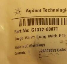 Agilent HPLC PURGE VALVE  LONG G1312-60071