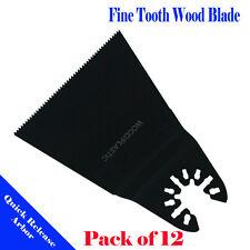 12 Saw Blade Oscillating Multi Tool Milwaukee Ryobi Porter Cable Fein Dremel