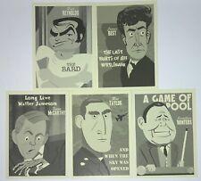2020 Rittenhouse The Twilight Zone Archives Portfolio Prints Complete Card Set 5