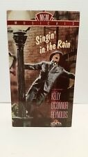 SINGIN' IN THE RAIN VHS MOVIE VIDEO TAPE CLASSICAL MUSICAL GENE KELLY D REYNOLDS