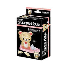 Korilakkuma 37 piece Crystal Gallery ❤ 3D Puzzle Japan Rilakkuma San-X