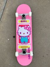 Girl Skate X Sanrio Hello Kitty Sean Malto Pro Model 8.0 please read description