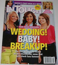 In Touch Magazine Vol 11 Issue 38 September 17 2012 Teen Mom Drama Leann Rimes