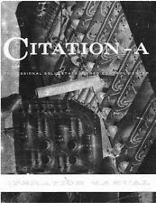 Harman Kardon Citation A Amplifier Tuner Owners Manual
