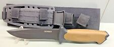 """Gerber USA Made STRONGARM Coyote Brown 9.75"""" Tactical Fixed Blade 08719 Knife"""