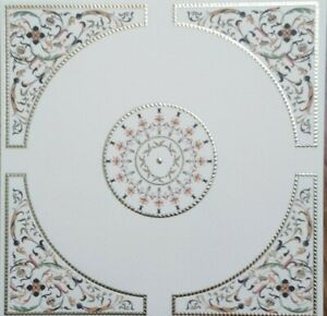 1/12th Scale Ornate Ceiling Centre Panel Paper.