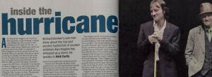Scarlett Johansson Alex Higgins Richard Dormer Rare photo interview UK MAGAZINE