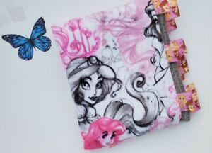 Disney Princesses fleece Fabric Dimple Minky Blanket Toddler/Child Girl 50x54