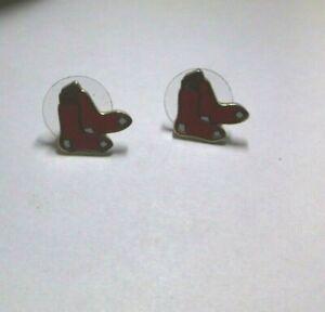 BOSTON RED SOX PSG/MLBP 2015 Stud Pierced Earrings