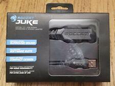 ROCCAT JUKE VIRTUAL 7.1 USB STEREO EXTERNAL SOUND CARD HEADSET & MIC ADAPTER