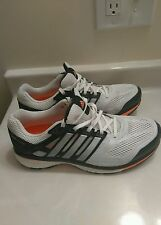 Adidas Men Supernova Glide Boost Running Shoes White/Black SZ US 6 (MSRP $160