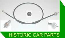 TACHOMETER Tacho REV-COUNTER CABLE & GROMMET for RHD MGA 1500 1955-59