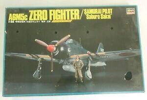 Htf Hasegawa A6M5c Zéro de Combat Avec / Samouraï Pilote' Saburo Sakai 'en 1/32