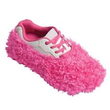 Robby's Fuzzy Bowling Shoe Covers Pink