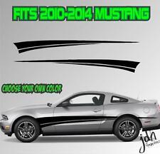 2010-2014 Ford Mustang Rocker Stripe Vinyl Decal Sticker GT 5.0 Graphic Cobra