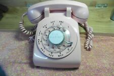 Telephone Western electric Pink Rotary Bell System 11-68 Desktop extra long cord