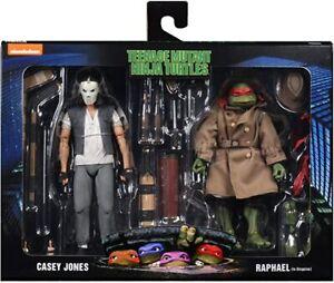 NECA Teenage Mutant Ninja Turtles 2-Pack Casey Jones & Raphael in Disguise UK