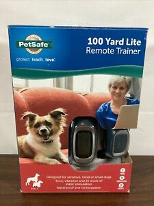 Pet Trainer Dog Collar with remote control fob by Pet Safe Open Box Complete!