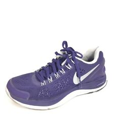 Nike Lunarglide 4 Womens Size 5.5 Lilac Running Sneakers.