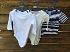 Boys kids Baby Cotton Bodysuit Romper & Short sleeves Tops T shirt 12-18months