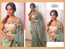Exclusive Designer party wear indian wedding sari vintage bridal bollywood dress