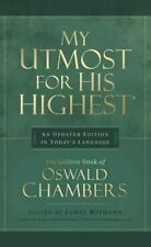 MY UTMOST FOR HIS HIGHEST Oswald Chambers FREE SHIPPING hardcover Christian book