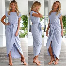 Women Summer Boho Long Maxi Dress Evening. Cocktail Party Beach Dresses Sundress