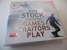 GAMES TRAITORS PLAY JON STOCK 11 CD AUDIOBOOK COMPLETE UNABRIDGED PAUL PANTING