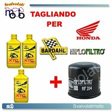 TAGLIANDO FILTRO OLIO + 3LT BARDAHL XTC 10W40 HONDA CBR 600 RR 2005