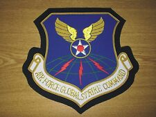 US GSC Global Strike Command Bomber Air Force Wing Nose Art  Patch Jacket Plaque