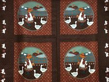 """PANEL SUNBONNET SUE  QUILTING  CUSHIONS  PANEL     40"""" X 36""""   NOW  ONLY  £6.99"""
