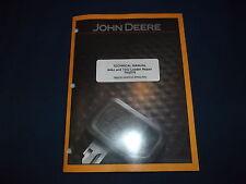 JOHN DEERE 644J 724J LOADER TECHNICAL SERVICE SHOP REPAIR MANUAL BOOK TM2076
