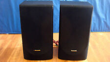 Panasonic SB-DH44 Stereo Speaker 2-Way System Pair Set iPod Portable CD