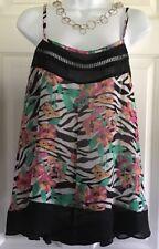 TORRID Size 0 /0X Women's Blouse, Sleeveless, Summery, light and cool