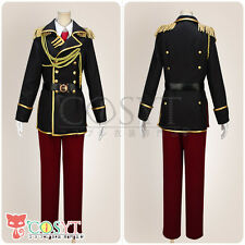 COSYT K Project Totsuka Tatara Spoon Military Uniform Cosplay Costume With Hat