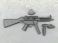 1/6 scale toy LAPD SWAT - Black HK MP5 SMG w/Red Dot SIght