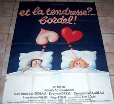 Affiche - ET LA TENDRESSE BORDEL