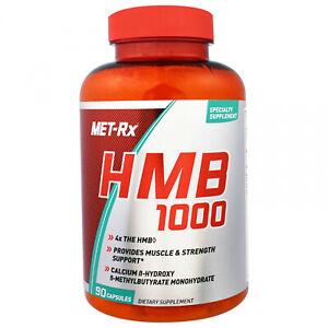 MET-Rx, HMB 1000, 90 Capsules