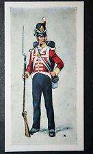 East Lancashire Regiment  30th Foot (Cambridgeshire Regt)    Vintage Card  EXC