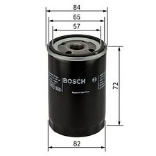 BOSCH Oil Filter 0986452019 - Single