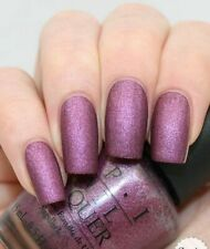 OPI WE'LL ALWAYS HAVE PARIS SUEDE Purple Nail Polish Lacquer .5oz F20 VERY RARE!
