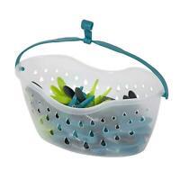 36 Pegs Bag Basket Laundry Clothing Washing Line Peg Storage With Hanging Hook