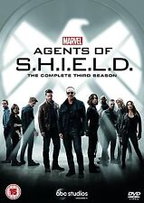 AGENTS OF SHIELD COMPLETE SERIES 3 DVD All Episode Third Season Marvel UK New R2