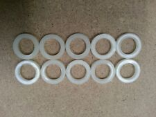 10 x Nylon Seal Washers To Fit CO2 & Argon Type Regulators, Mig Welding