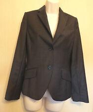 TM Lewin UK6 EU34 US2 dark grey-mix wool/cashmere lined Clara jacket