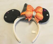 DISNEY HEADBAND TOKYO DISNEYRESORT HALLOWEEN SPIDER MICKEY EARS HAT JAPAN F/S